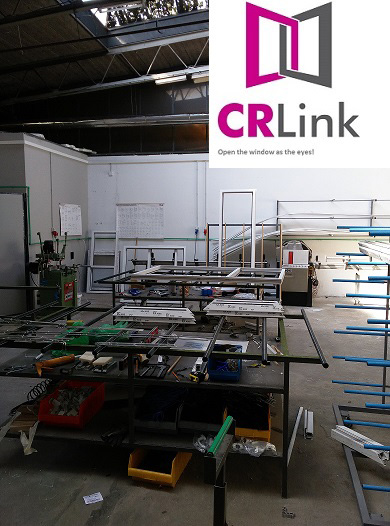 PVC and ALU joinery CR LINK manufacturing plant Belgrade